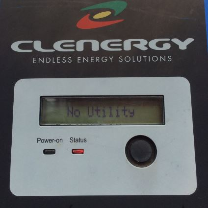 faulty clenergy solar inverter